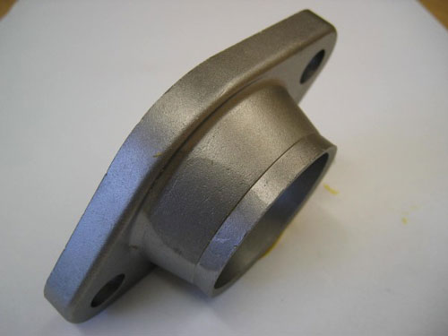 Exhaust-flange