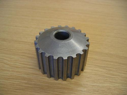 Crank-shaft-pulley