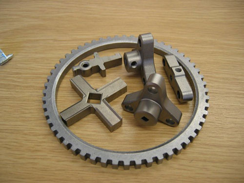 Range-of-stainless-steel-components